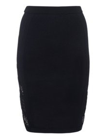 JONATHAN SIMKHAI Knit Net Pencil Black