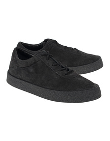 YEEZY Thick Shaggy Suede Crepe Black