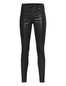 J BRAND None Leather Noir Black
