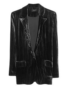 JADICTED Blazer Velvet Black