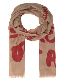 ALBEROTANZA Light Pashmina Love All Out Taupe