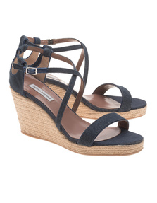 TABITHA SIMMONS Liu Wedges Denim