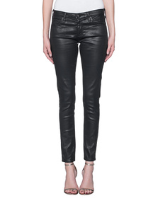 AG Jeans The Legging Leatherette Super Black