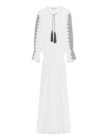 LUG VON SIGA Long Embroidery White