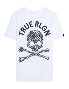 TRUE RELIGION Crew Shirt White