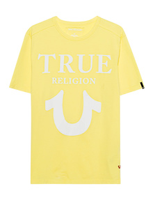 TRUE RELIGION Round Lemon Yellow