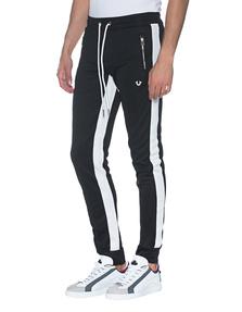 TRUE RELIGION Stripe Sweat Sporty Black