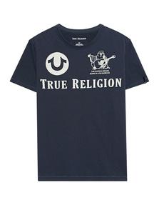 TRUE RELIGION Crew Shirt Blue