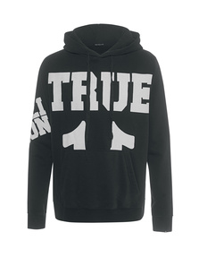 TRUE RELIGION Big True Logo Black