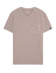 TRUE RELIGION Crewneck Shirt Old Pink