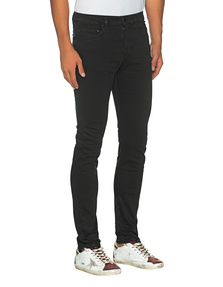 TRUE RELIGION Rocco Gabardine Black