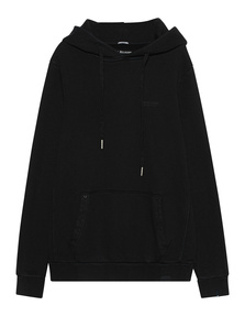 TRUE RELIGION Hooded Black