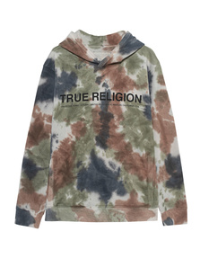 TRUE RELIGION Hood Batik Multicolor