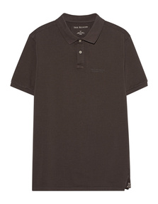 TRUE RELIGION Polo Pique Brown
