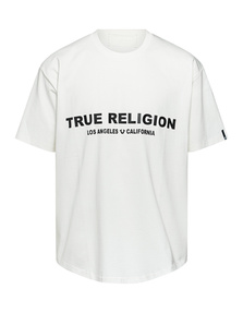 TRUE RELIGION Organic Cotton Off White