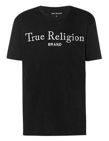 TRUE RELIGION Logo Embroidery Black