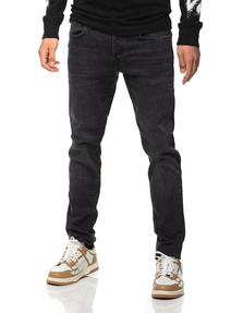 TRUE RELIGION Marco Relaxed Taper Black
