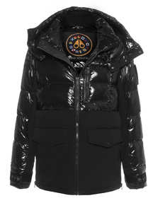 MOOSE KNUCKLES Puffer Mixed Black