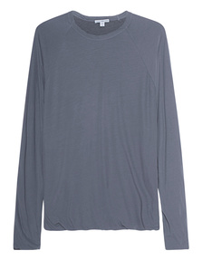 JAMES PERSE Raglan Cotton North Grey