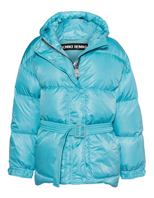 IENKI IENKI Belted Puffer Turquoise