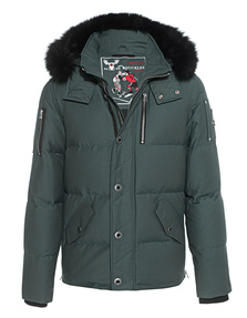 MOOSE KNUCKLES 3Q with BLK Fur Green