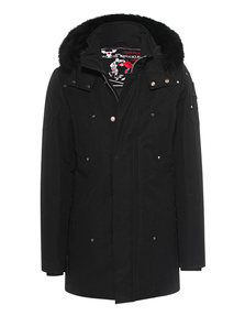 MOOSE KNUCKLES Classy Fur Black