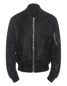 RtA  Leather Bomber Black
