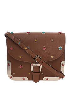 RED VALENTINO Multi Stars Studded Light Cuir