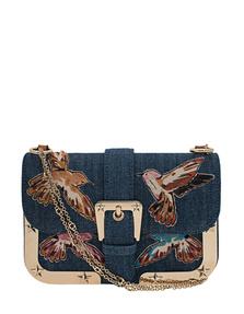 RED VALENTINO Birds Denim Blu Medio