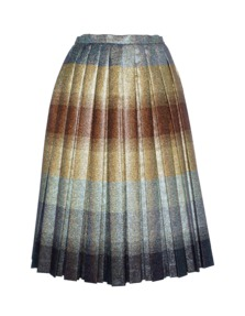 MARCO DE VINCENZO Stripe Lurex Pleat Multi
