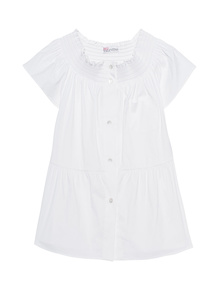 RED VALENTINO Off-Shoulder White