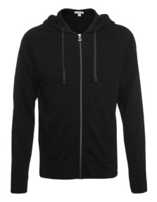 JAMES PERSE Vintage Fleece Hoodie Black