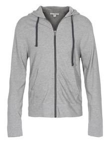 JAMES PERSE Hood Heather Grey