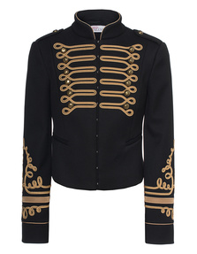 RED VALENTINO Embroidered Nero