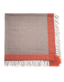 ALBEROTANZA Two Fringes Comfy Brown