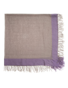 ALBEROTANZA Two Fringes Comfy Brown Taupe