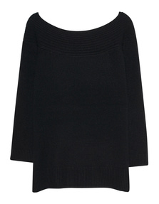 JADICTED Off Shoulder Cash Black