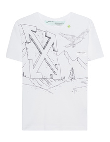 OFF-WHITE C/O VIRGIL ABLOH Pencil Eagle White