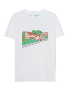 OFF-WHITE C/O VIRGIL ABLOH Architecture Simpsons White