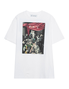 OFF-WHITE C/O VIRGIL ABLOH Over Caravag Painting White
