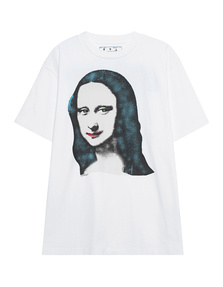 OFF-WHITE C/O VIRGIL ABLOH Oversized Monalisa White