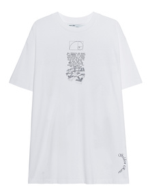 OFF-WHITE C/O VIRGIL ABLOH Oversized Dripping Arrows White
