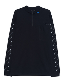 OFF-WHITE C/O VIRGIL ABLOH Diag Backbone Zip Black