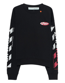 OFF-WHITE C/O VIRGIL ABLOH Diag Split Logo Black