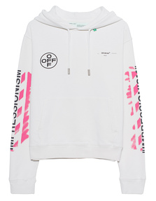 OFF-WHITE C/O VIRGIL ABLOH Stencil Hoodie Off-White