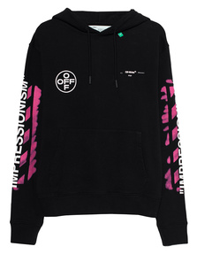 OFF-WHITE C/O VIRGIL ABLOH Stencil Hoodie Black