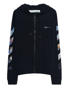 OFF-WHITE C/O VIRGIL ABLOH Zip DIAG Colored Arrows Black