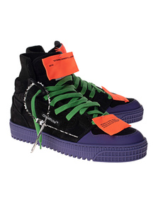 OFF-WHITE C/O VIRGIL ABLOH Off Court Black Purple