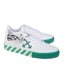 OFF-WHITE C/O VIRGIL ABLOH Low Vulcanized Canvas Green White