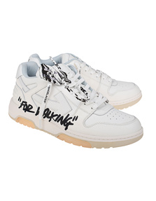 OFF-WHITE C/O VIRGIL ABLOH Out of Office Calf Specials White